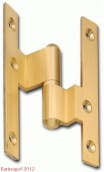 Brass CRANKED HINGES Ref:.260
